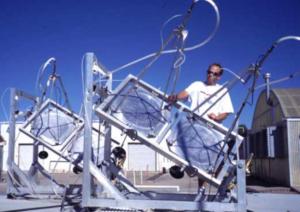 vertical farming in space