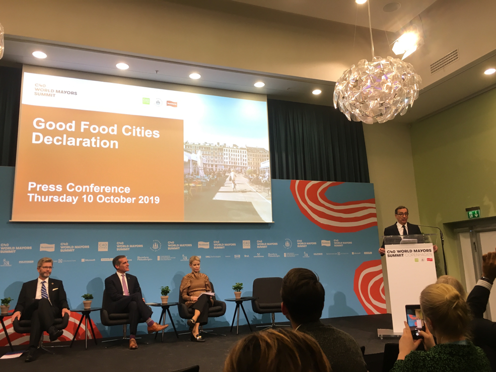 Report from C40 World Mayors Summit